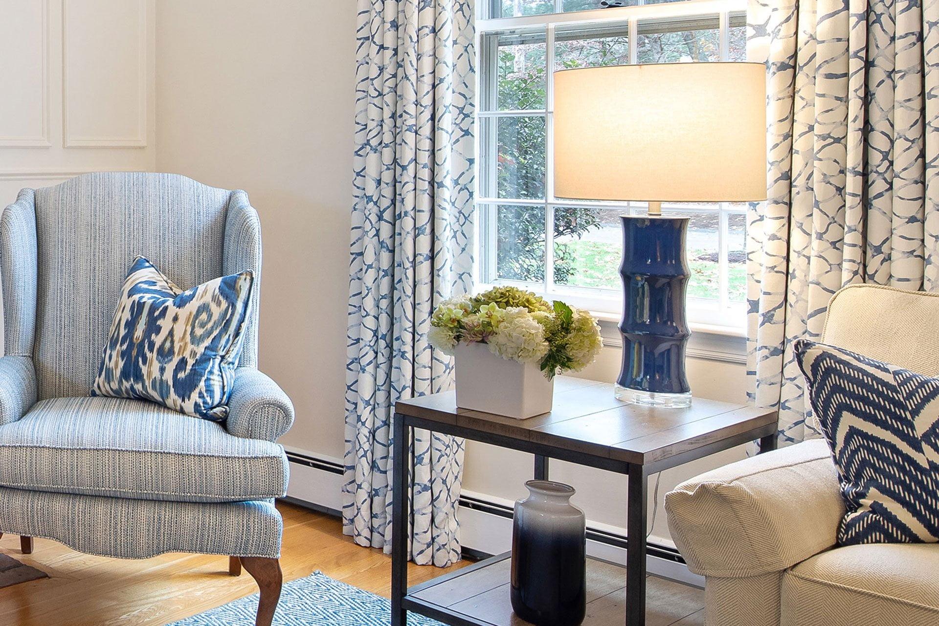 Classic Living Room | Lauren Lee Interior Design
